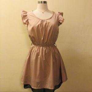 Dresses & Skirts - 🔥CHIFFON LIKE SHORT SEMI FORMAL DRESS🔥